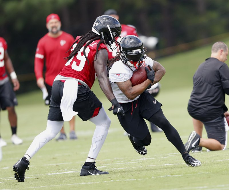 Devonta Freeman, DeVondre Campbell