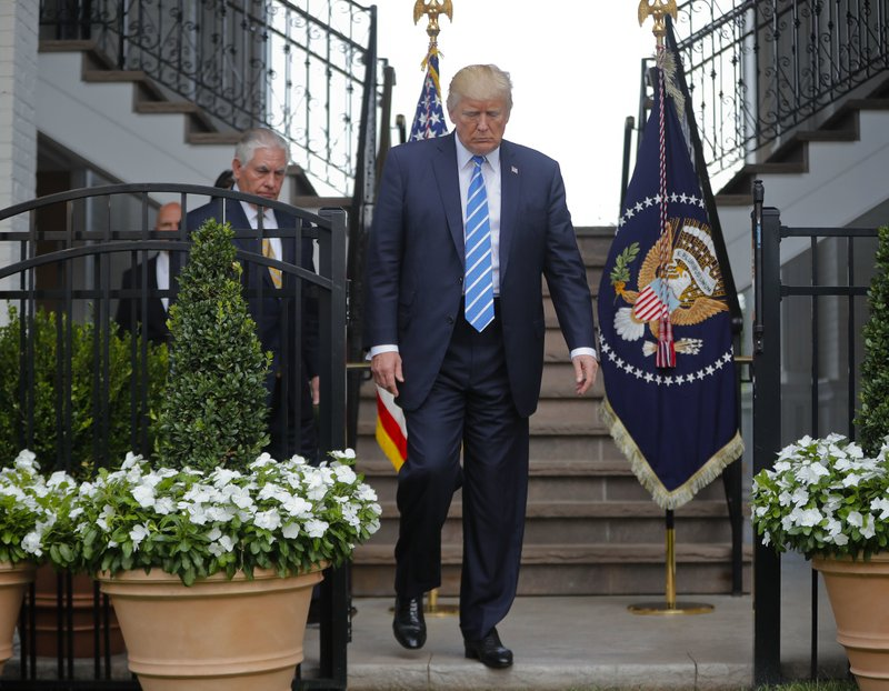 Trump says he won't rule out military response to Venezuela