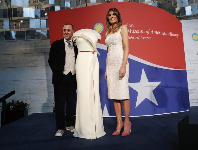Melania Trump, Herve Pierre