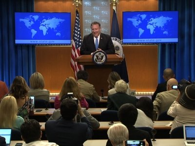US State Department Forms Iran Action Group