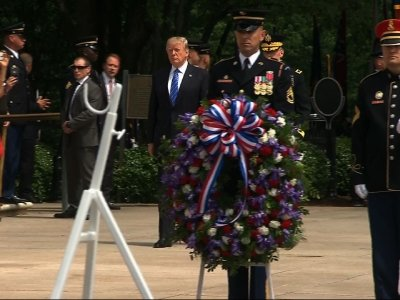 Trump Honors Sacrifices of US Service Members