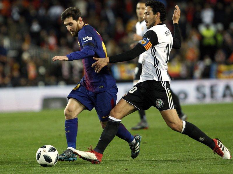 Lionel Messi, Dani Parejo