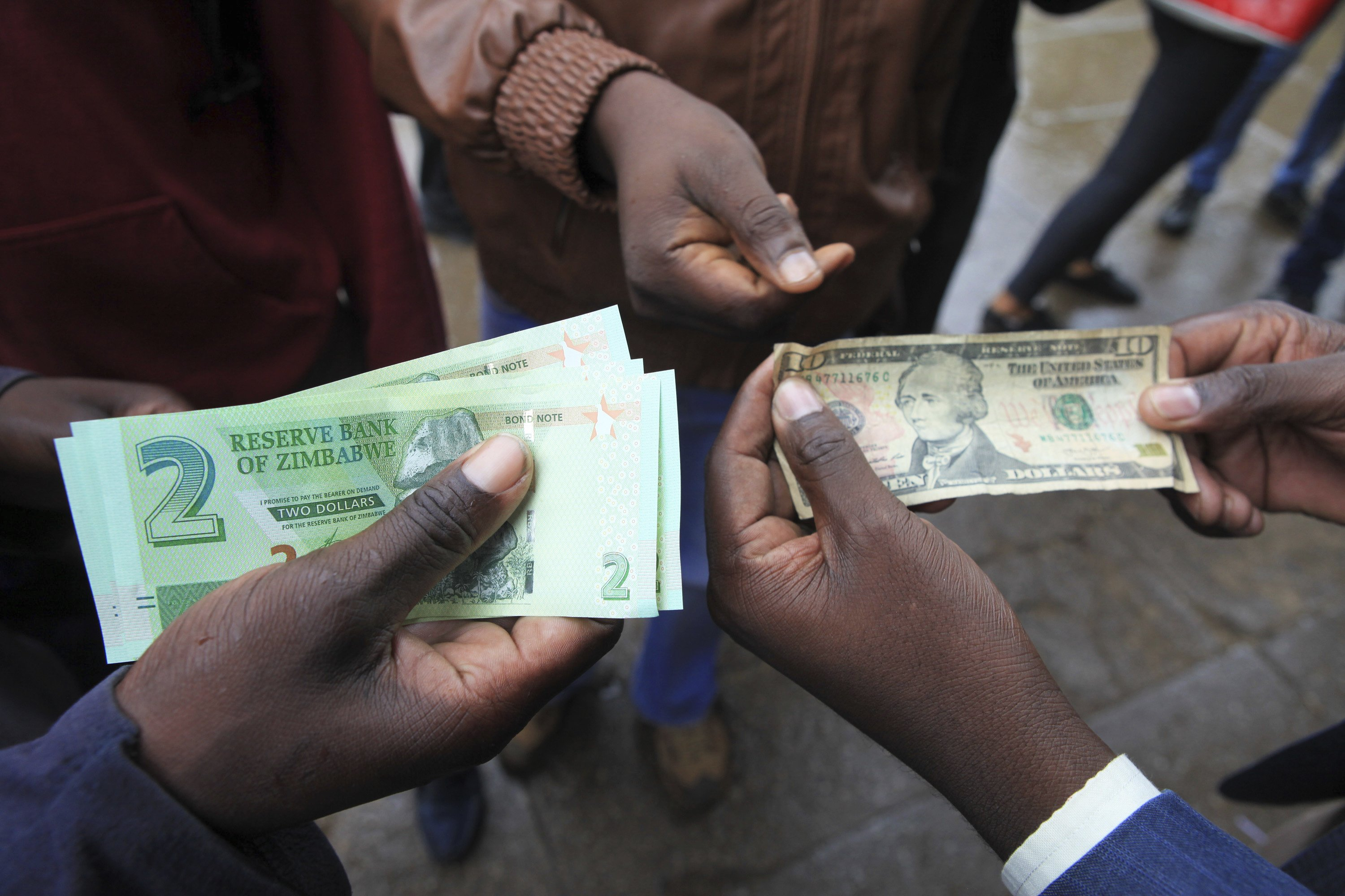 Image result for images of zimbabwe demand by civil servants to be paid in dollars