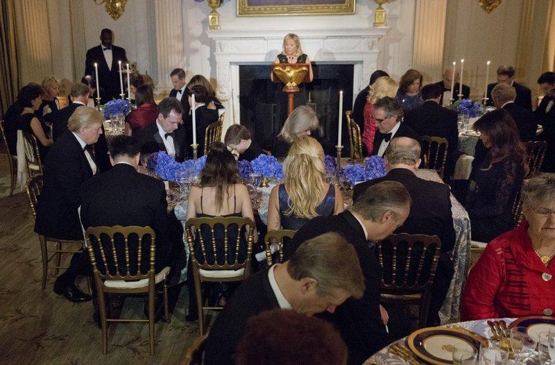 Donald Trump, Melania Trump, Mary Fallin