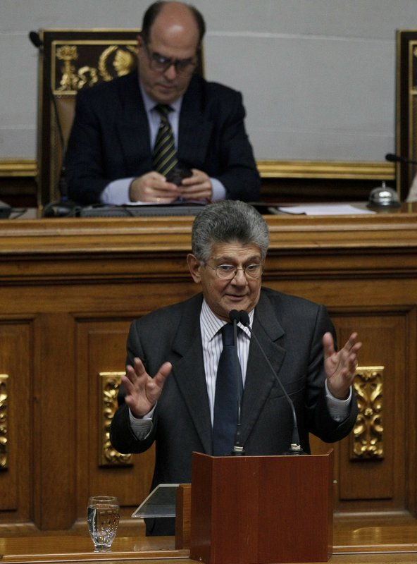 Henry Ramos Allup, Julio Borges