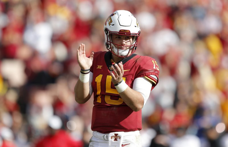 newest collection bc9c7 2808b QB Brock Purdy looking to be Iowa State's Tim Tebow