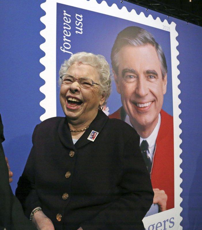 Us Postal Service Unveils Mister Rogers Postage Stamp