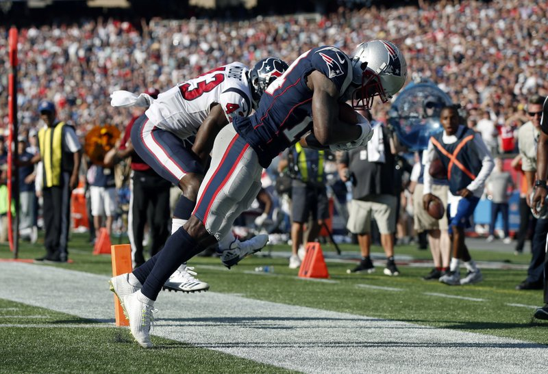 Image result for brandin cooks pats texans td