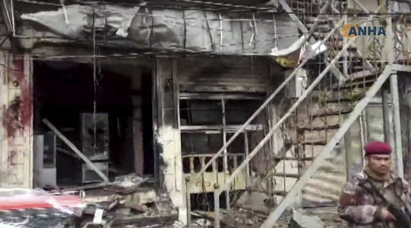 2 US service members, 2 US civilians killed in Syria blast