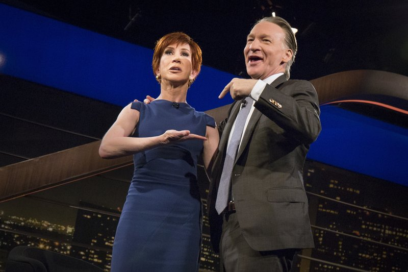 Bill Maher, Kathy Griffin