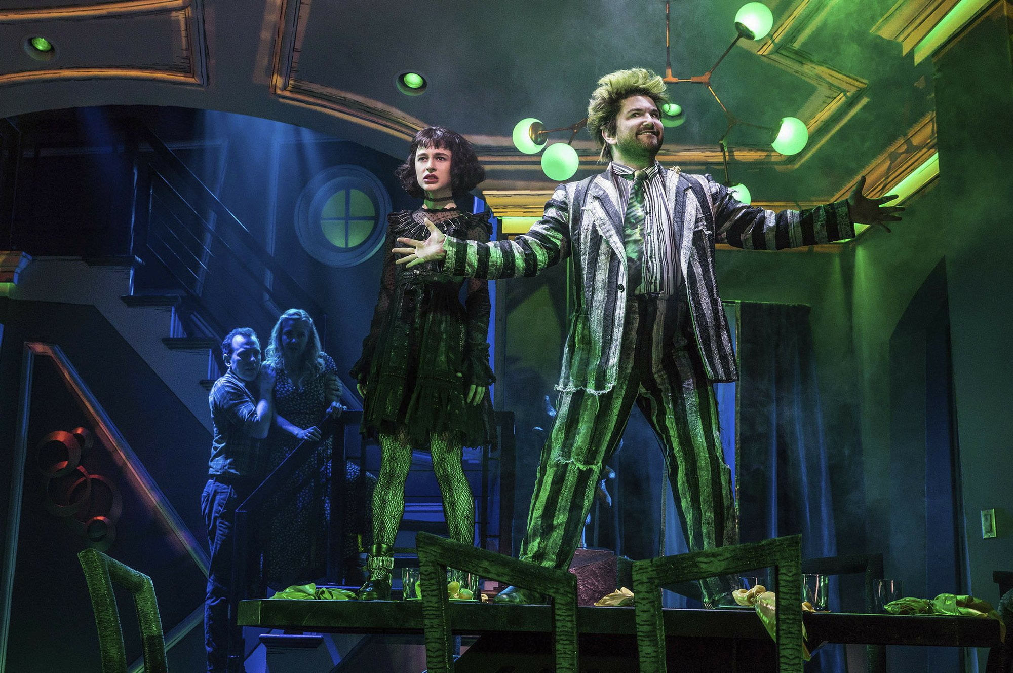 'Beetlejuice' stars reveal the backstage secrets on Broadway