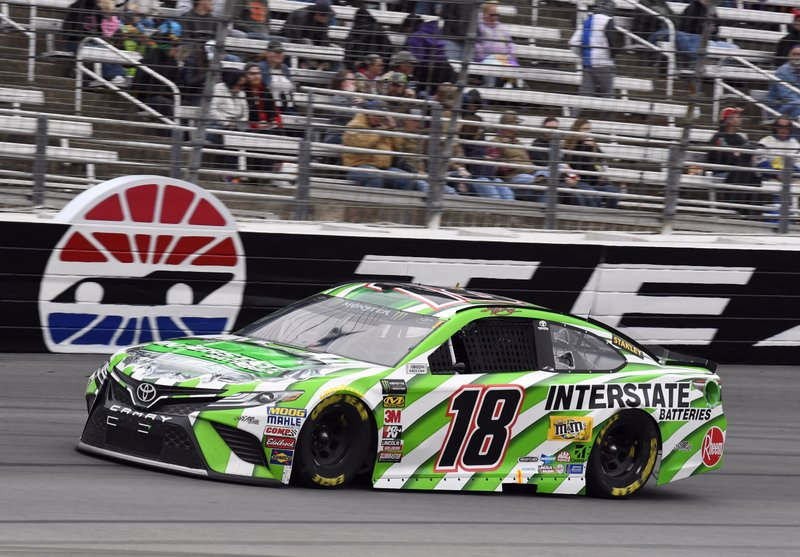The Latest: Kyle Busch Wins At Texas For 3rd Time