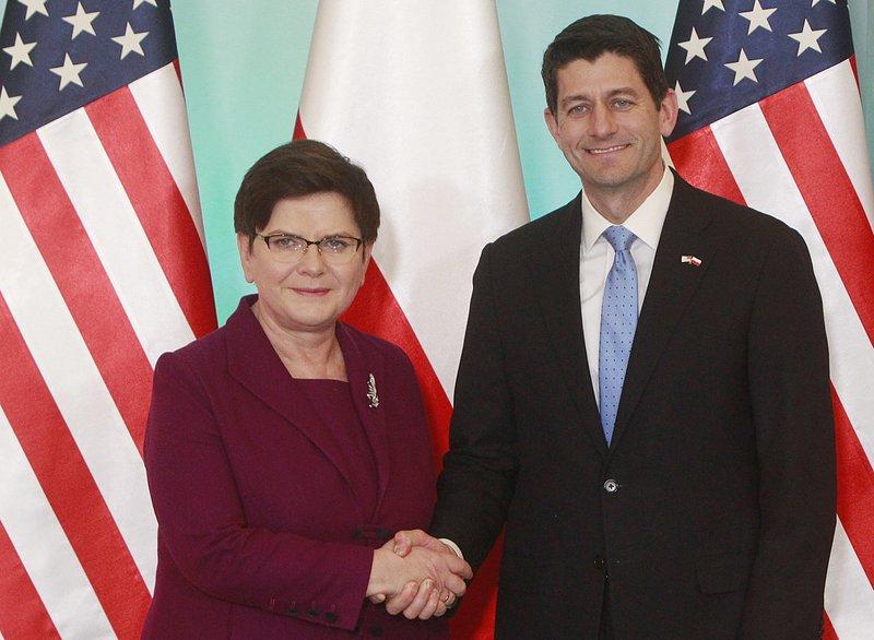 Beata Szydlo, Paul Ryan