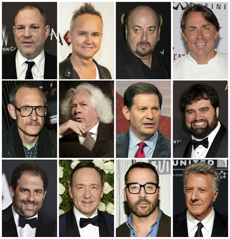 Since Weinstein: Growing list of the accused