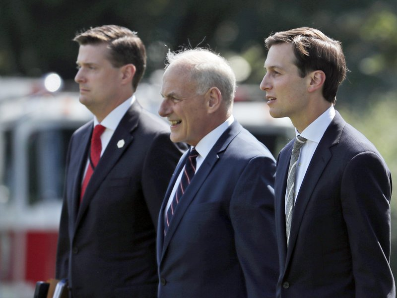 Rob Porter, John Kelly, Jared Kushner