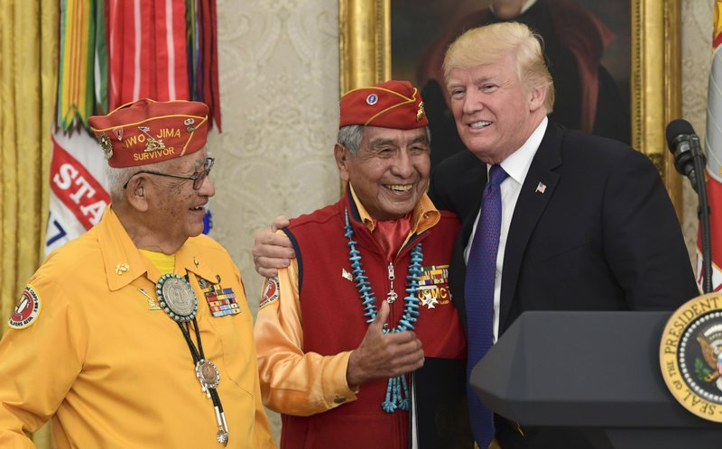Donald Trump, Peter MacDonald, Thomas Begay