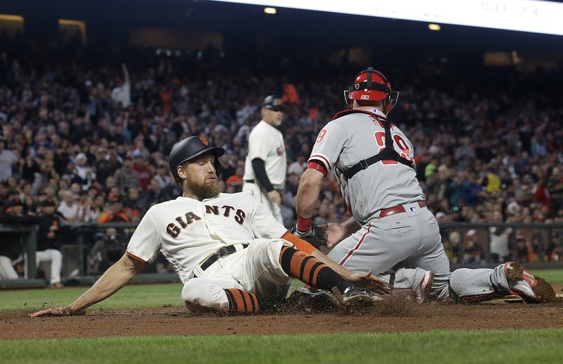Hunter Pence, Cameron Rupp