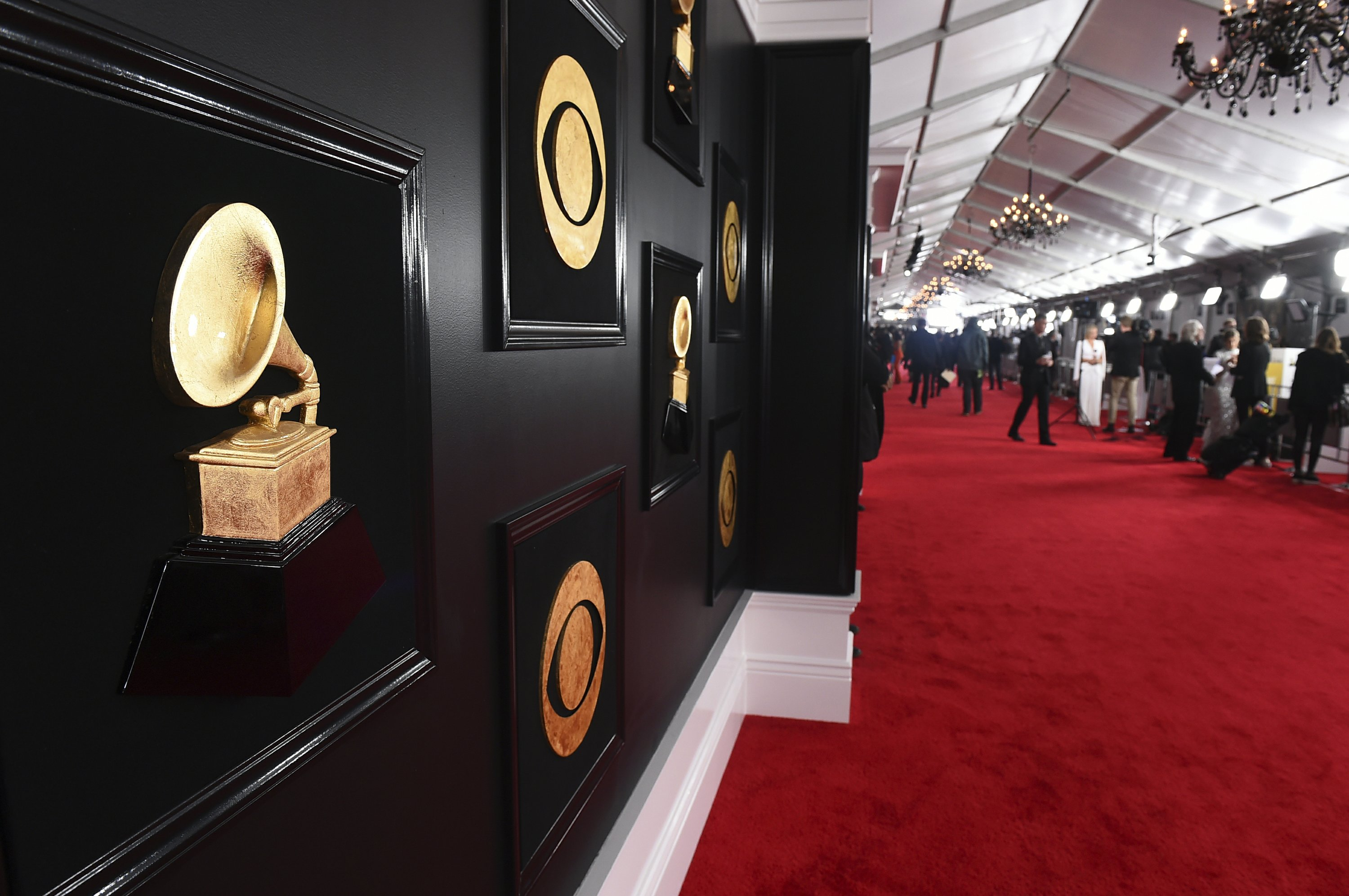 The Latest: At Grammys, PJ Morton defends Super Bowl show