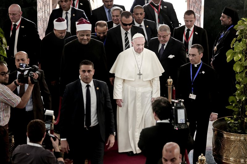 Pope Francis, Ahmed el-Tayyib