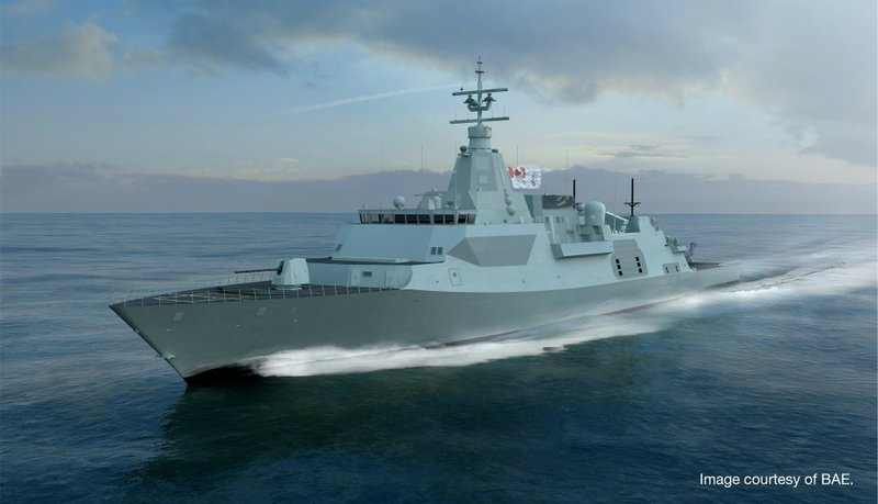 L3 to Deliver Innovative Solutions as Part of Canada's Combat Ship Team on  the Royal Canadian Navy's Canadian Surface Combatant Program