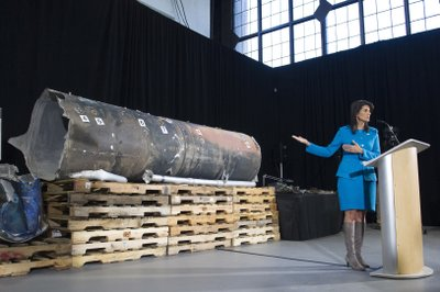 U.S. presents evidence Iran is illicitly arming Houthi rebels in Yemen (apnews.com)