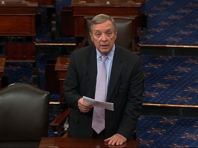 Durbin Reacts to Comey Firing Amid Russia Probe