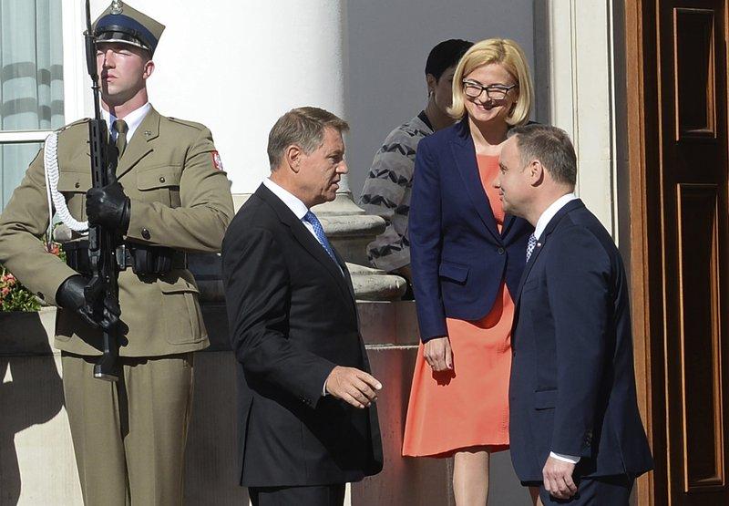 Klaus Iohannis, Andrzej Duda