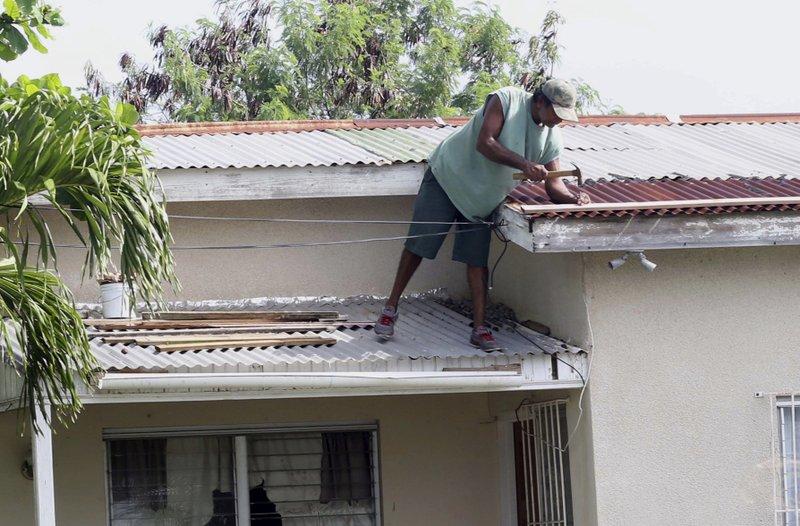 Powerful Hurricane Irma Hits First Caribbean Islands