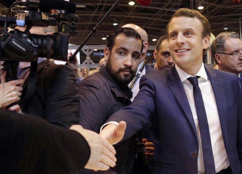 Emmanuel Macron, Alexandre Benalla