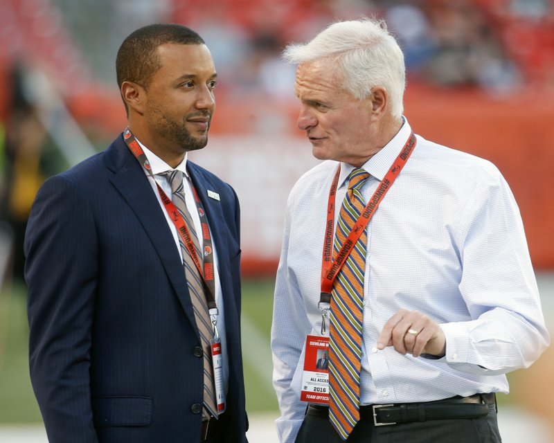 Sashi Brown, Jimmy Haslam