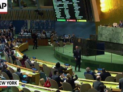 UN Votes 128-9 Against US Action On Jerusalem