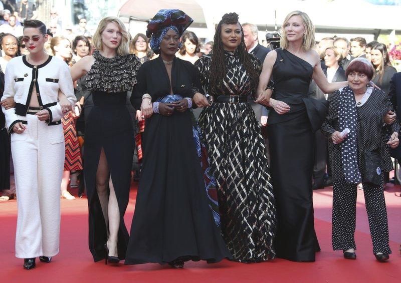 Kristen Stewart, Lea Seydoux, Khadja Nin, Ava Duvernay, Cate Blanchett, Agnes Varda