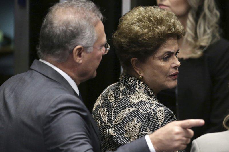 Dilma Rousseff, Renan Calheiros