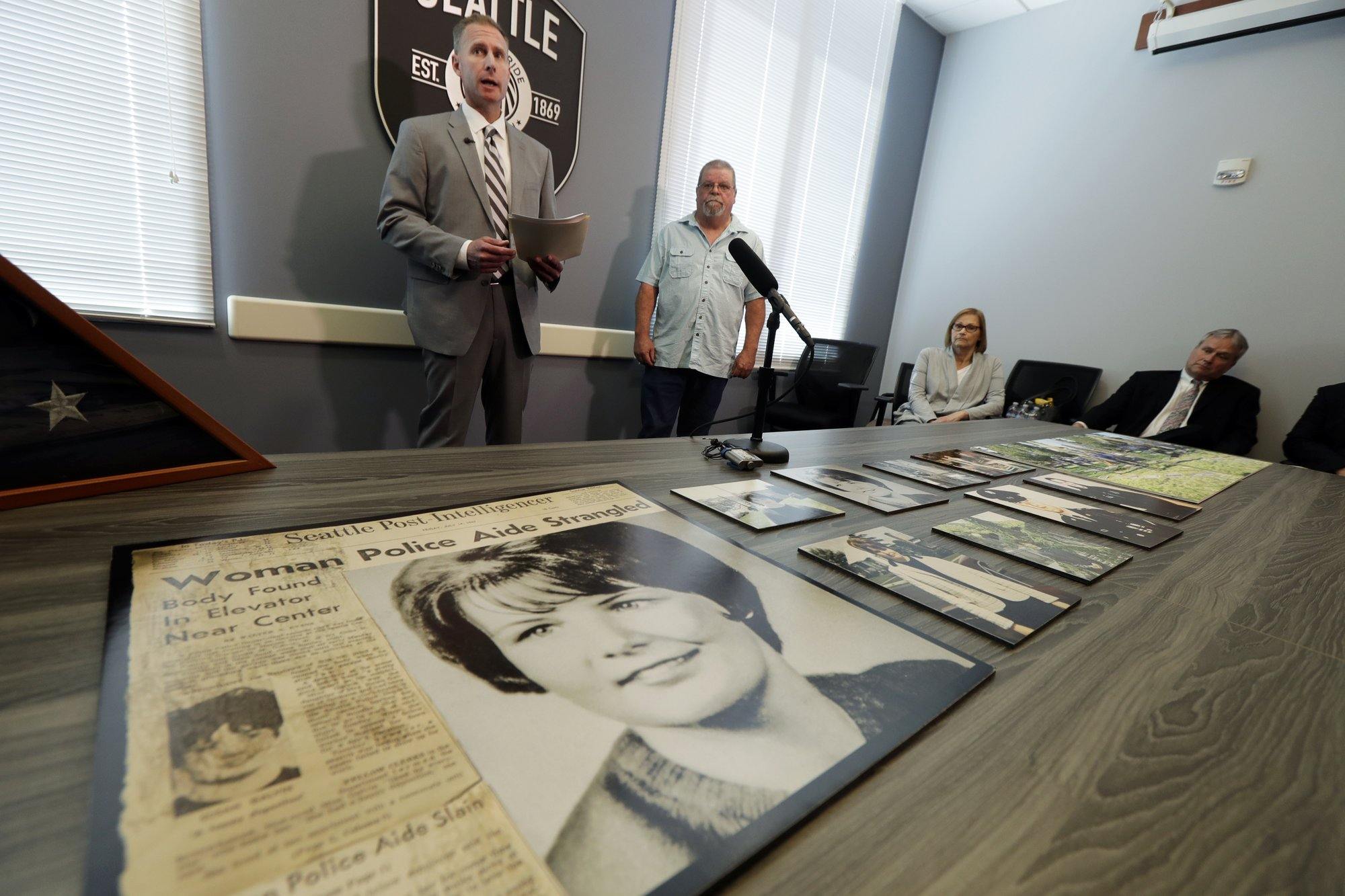 DNA, family tree help solve 52-year-old Seattle murder case