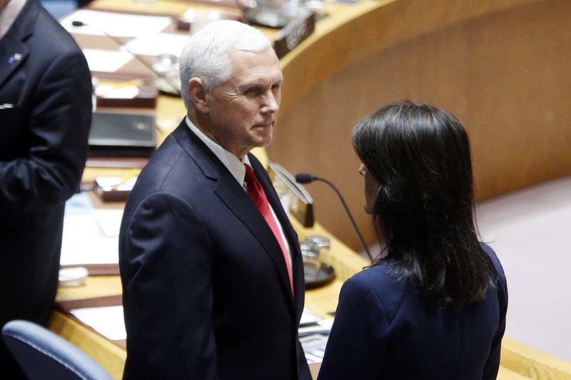 Mike Pence, Nikki Haley