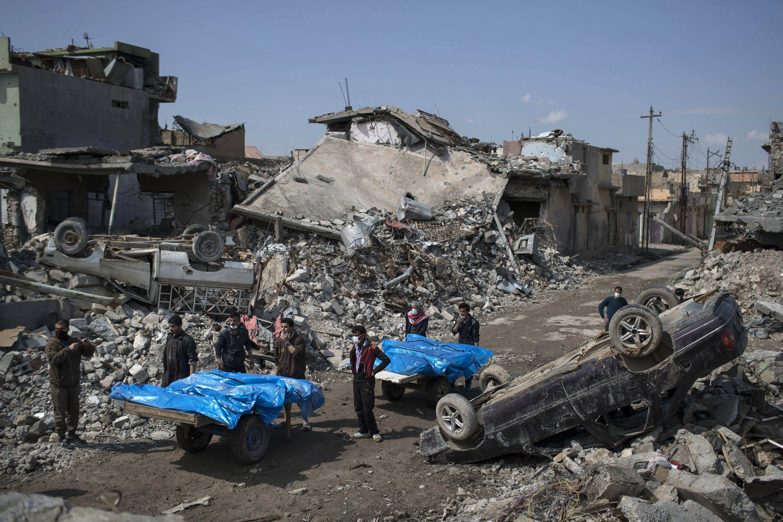 US denies loosening rules for avoiding civilian casualties