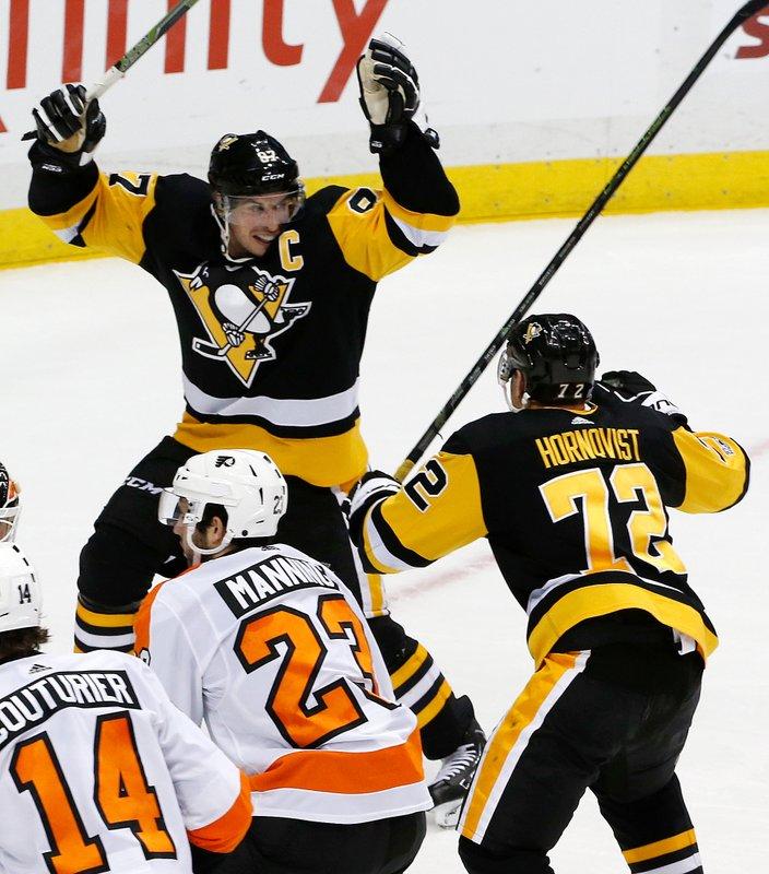 Sidney Crosby, Patric Hornqvist