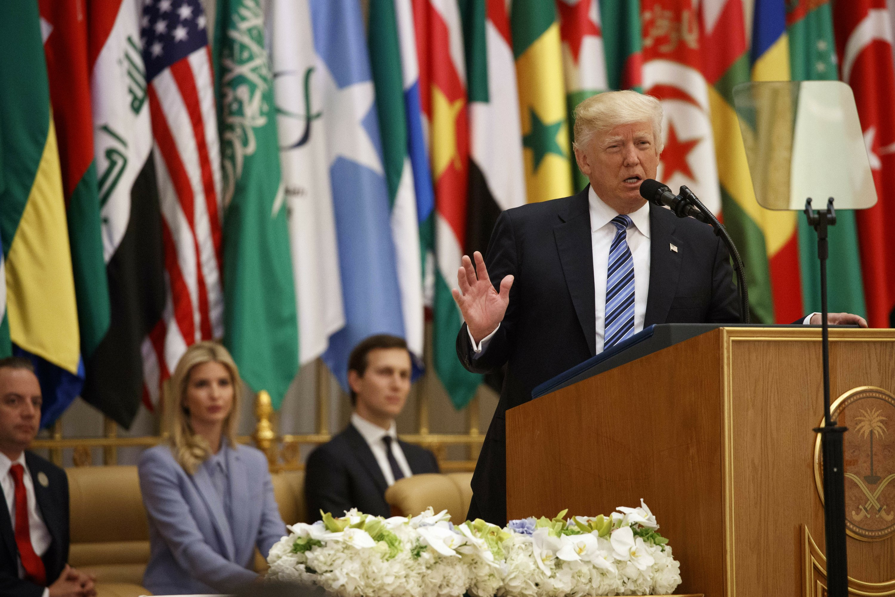 AP FACT CHECK: Trump exaggerates record while abroad