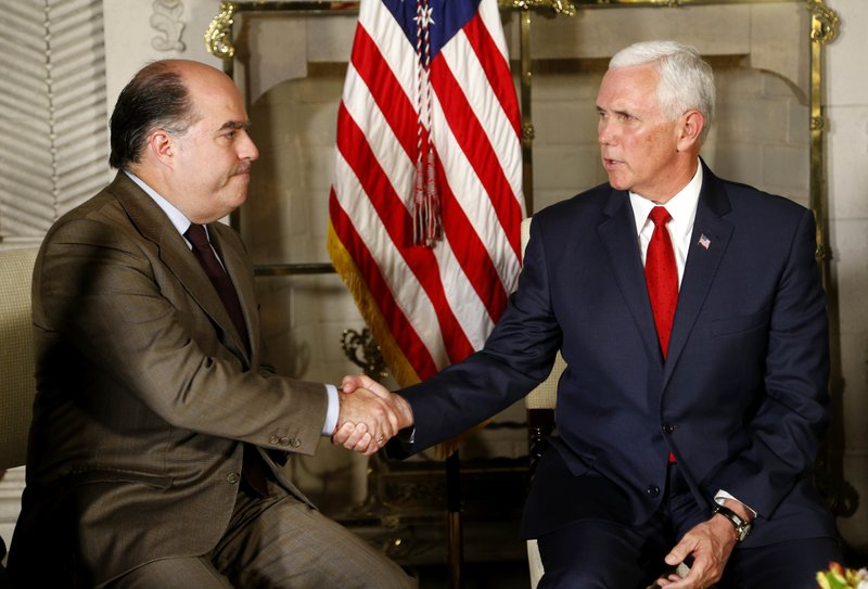 Mike Pence, Julio Borges