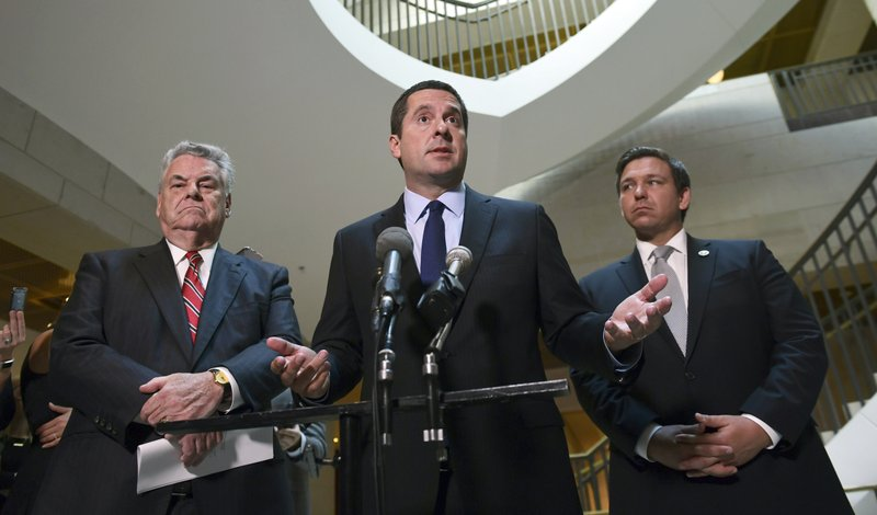 Devin Nunes, Peter King, Ron DeSantis