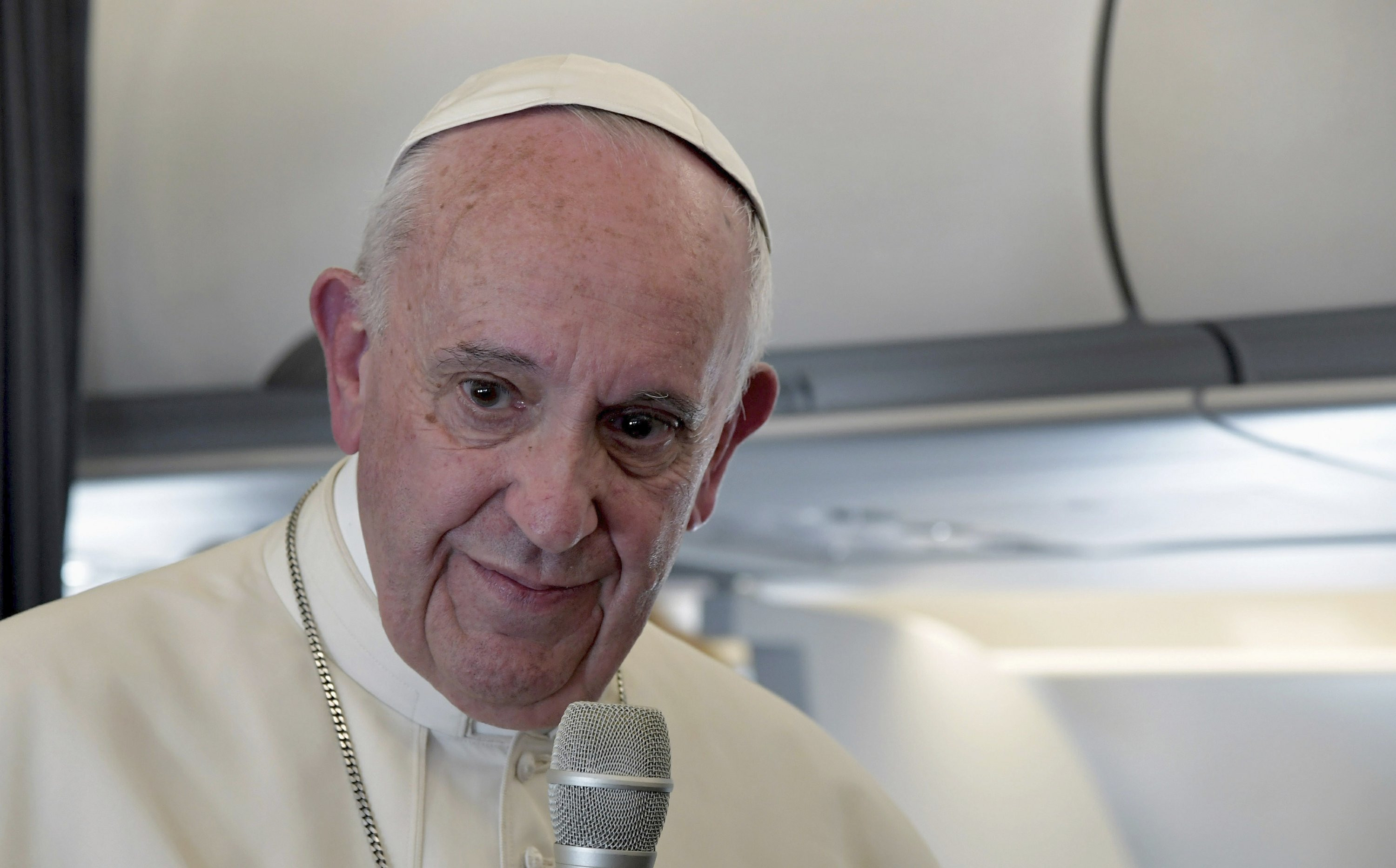 Pope says he'll seek common ground with Trump, won't preach