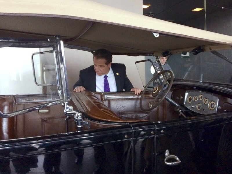 Car Fdr Used While Governor Of Ny Is Being Repaired By State