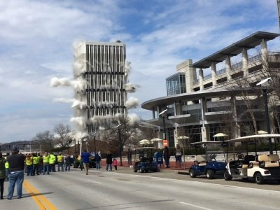 Tallest building in Kentucky's Capital Implodes