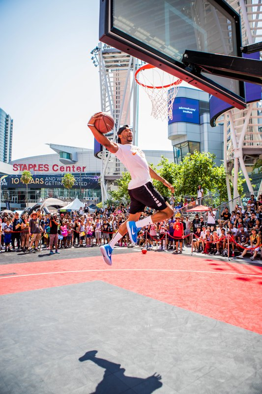10th Annual Nike Basketball 3ON3 Tournament at L.A. LIVE Concludes as Largest Tournament to Date
