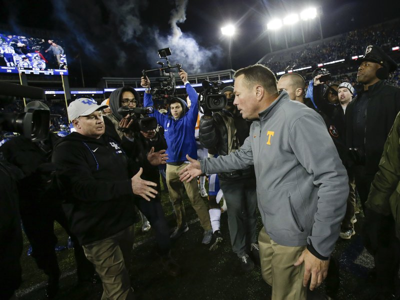 Butch Jones, Mark Stoops