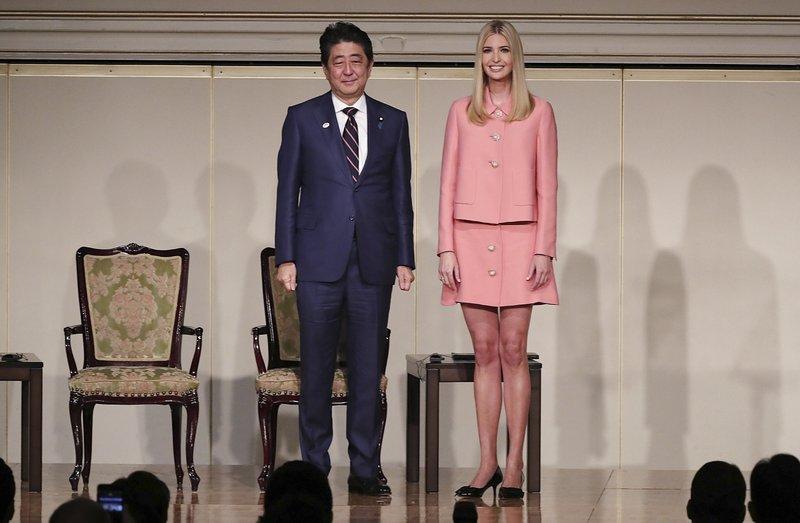 Ivanka Trump, Shinzo Abe