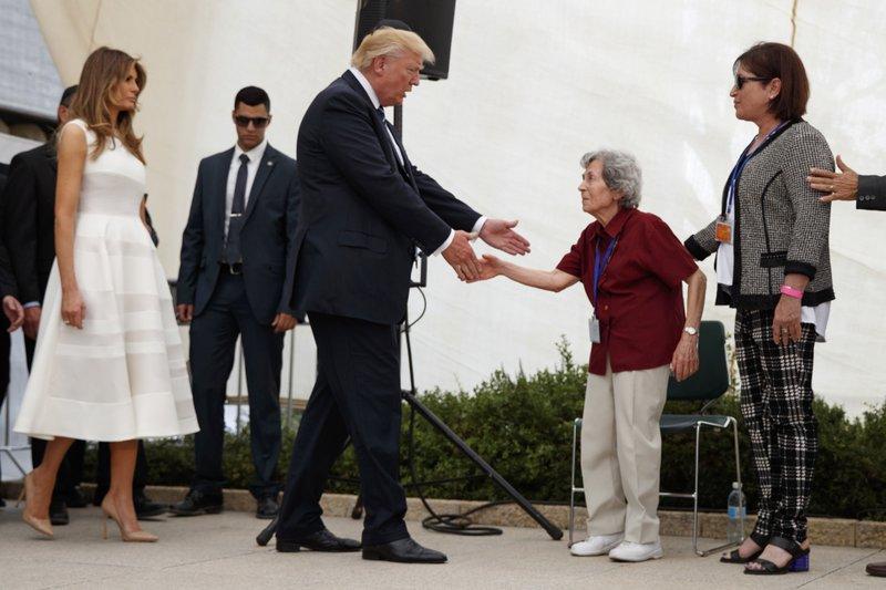 Donald Trump, Melania Trump, Margot Herschenbaum
