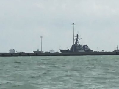 10 Missing After US Destroyer, Tanker Collide