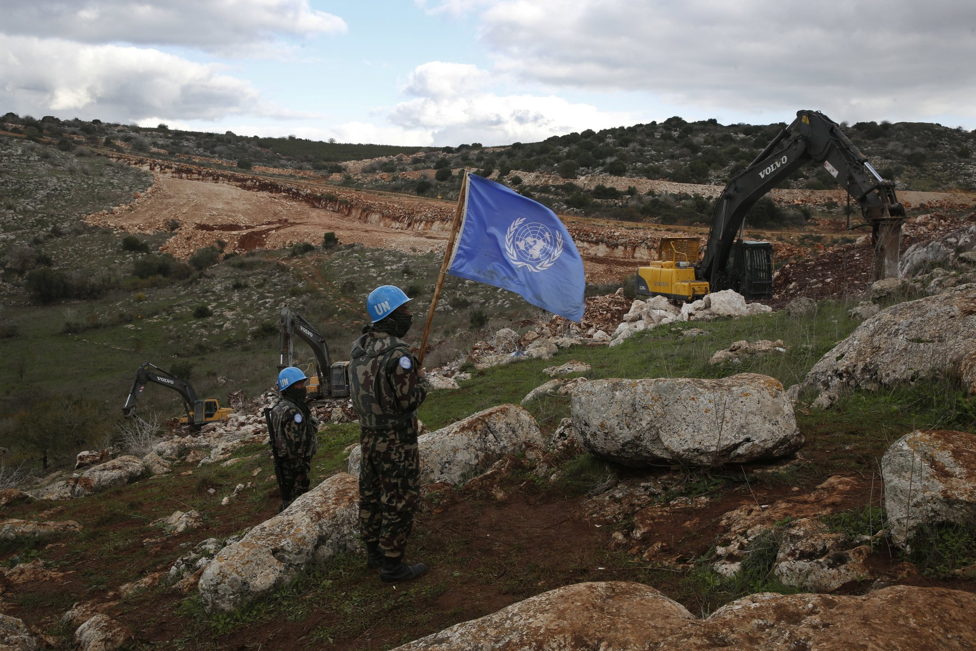 UN confirms 3rd Hezbollah tunnel at Lebanon-Israel frontier