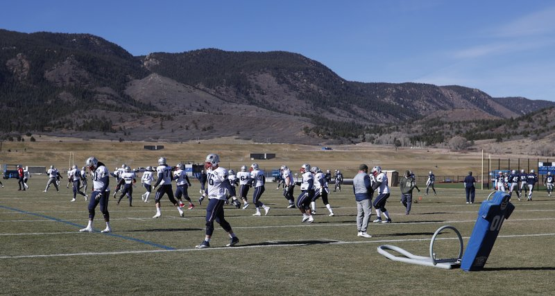 New England Patriots, Air Force Academy